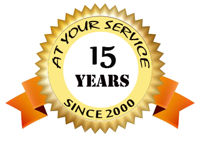 14 Years Excellent Service